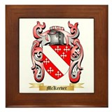 Mckeever coat of arms Framed Tiles