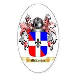 McKeehan Sticker (Oval 50 pk)