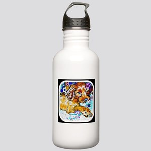 Luna the labradoodle Stainless Water Bottle 1.0L