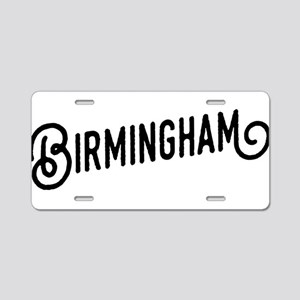 Birmingham, Alabama Aluminum License Plate