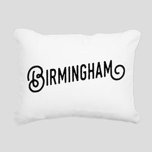 Birmingham, Alabama Rectangular Canvas Pillow