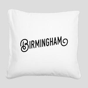 Birmingham, Alabama Square Canvas Pillow