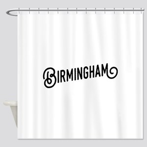 Birmingham, Alabama Shower Curtain