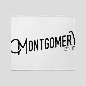 Montgomery, Alabama Throw Blanket