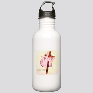 ASL ILY 1 John 4:7 Stainless Water Bottle 1.0L