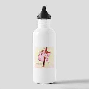 ASL ILY 1 John 4:7 Stainless Water Bottle 1.0L