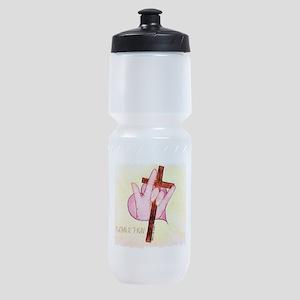 ASL ILY 1 John 4:7 Sports Bottle