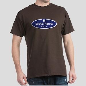 Euskal Herria Kalea, San Sebastian, S Dark T-Shirt