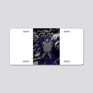 day of reckoning Aluminum License Plate