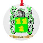 McKee Round Ornament