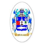 McKeane Sticker (Oval 50 pk)