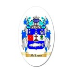 McKeane 35x21 Oval Wall Decal