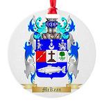 McKean Round Ornament