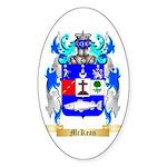 McKean Sticker (Oval 10 pk)