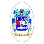McKean Sticker (Oval 50 pk)