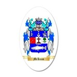 McKean 20x12 Oval Wall Decal