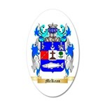 McKean 35x21 Oval Wall Decal
