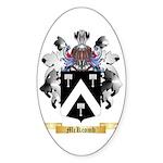 McKcomb Sticker (Oval 10 pk)