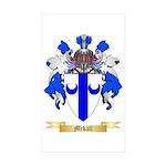 Mckall Sticker (Rectangle 10 pk)