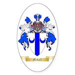 Mckall Sticker (Oval 10 pk)