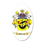 McKaine 35x21 Oval Wall Decal