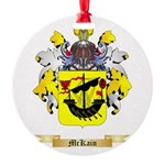 McKain Round Ornament