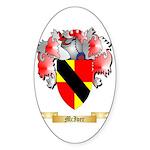 McIver Sticker (Oval 50 pk)