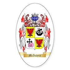 McIntyre Sticker (Oval)