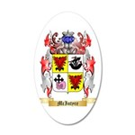 McIntyre 20x12 Oval Wall Decal