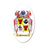 McIntyre 35x21 Oval Wall Decal