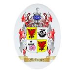 McIntyre Oval Ornament