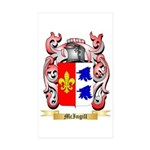 McIngill Sticker (Rectangle 50 pk)
