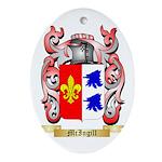 McIngill Oval Ornament