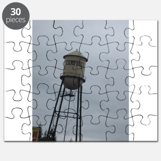 Campbell water tower Puzzle