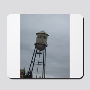 Campbell water tower Mousepad