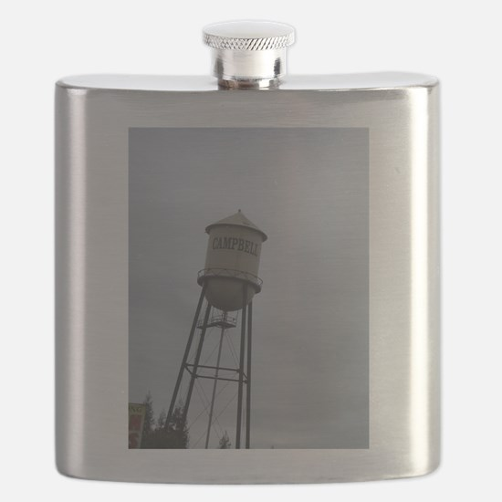 Campbell water tower Flask
