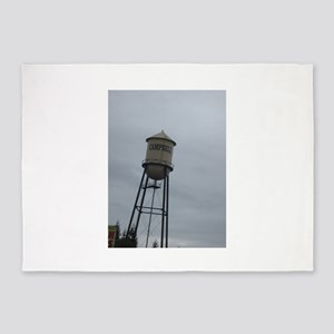Campbell water tower 5'x7'Area Rug