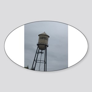 Campbell water tower Sticker