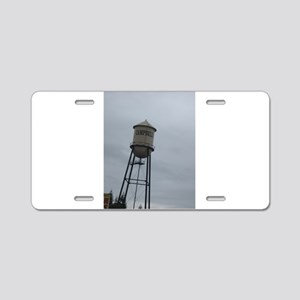 Campbell water tower Aluminum License Plate