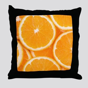 ORANGES 4 Throw Pillow