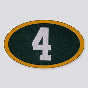 4 Oval Sticker