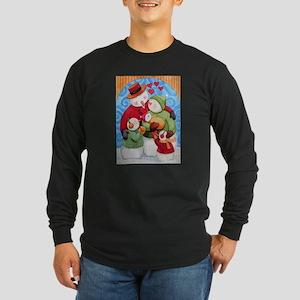 Snowman Family Long Sleeve T-Shirt