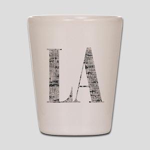 LA - Los Angeles Shot Glass