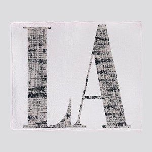 LA - Los Angeles Throw Blanket