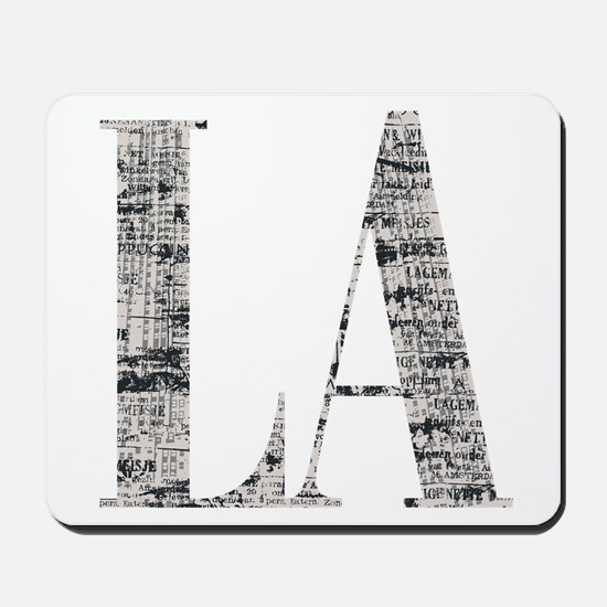 LA - Los Angeles Mousepad