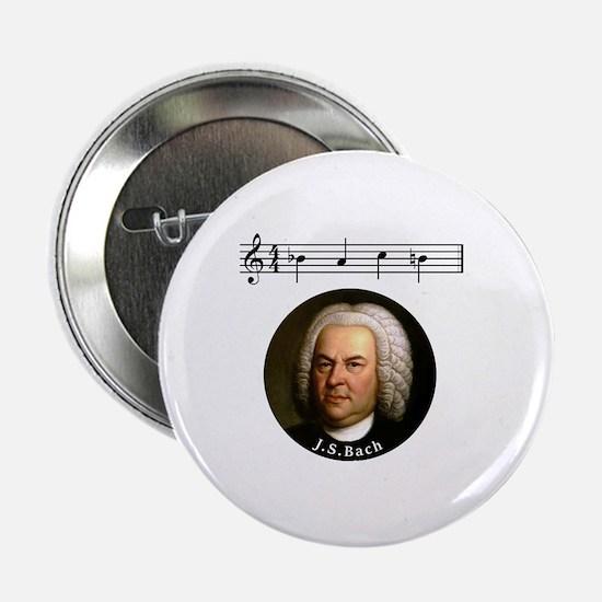 """Cute Bach 2.25"""" Button"""