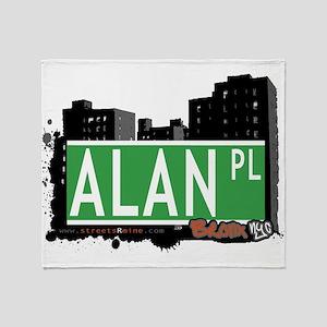 Alan Pl Throw Blanket