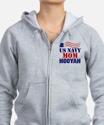 US Navy Mom Hooyah Sweatshirt