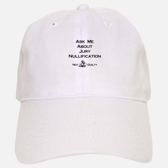 Jury Nullification Baseball Baseball Cap