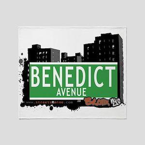 Benedict Ave Throw Blanket